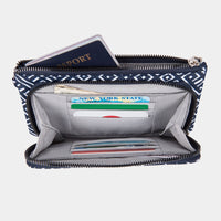 Travelon RFID Blocking Phone Clutch Wallet Interior View