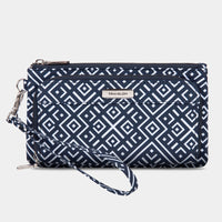 Travelon RFID Blocking Phone Clutch Wallet Mosaic Tile
