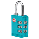 Travelon TSA Accepted Luggage Lock Aqua