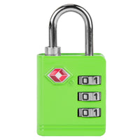 Travelon TSA Accepted Luggage Lock Green