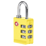 Travelon TSA Accepted Luggage Lock Side View