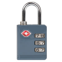 Travelon TSA Accepted Luggage Lock Slate Grey