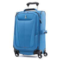"Travelpro Maxlite 5 21"" Expandable Carry-On Spinner Azure Blue"