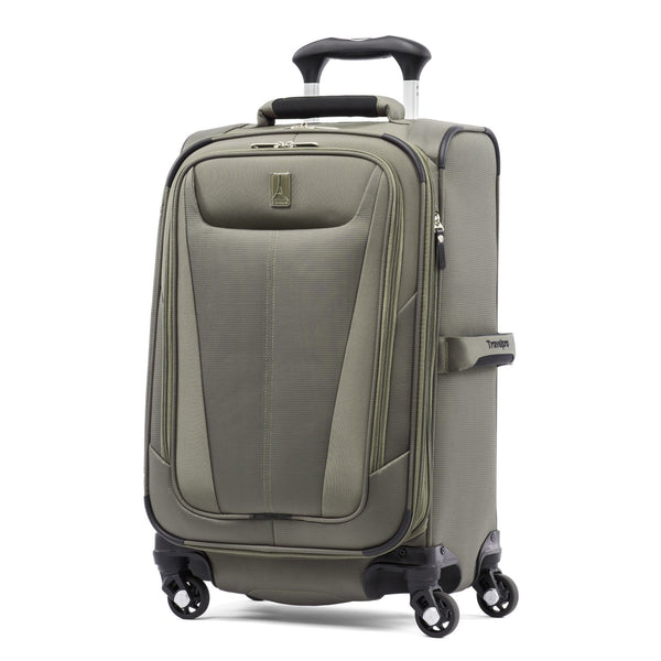 "Travelpro Maxlite 5 21"" Expandable Carry-On Spinner Slate Green"