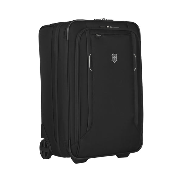 Victorinox Werks Traveler 6.0 2-Wheel Softside Frequent Flyer Carry-On Black