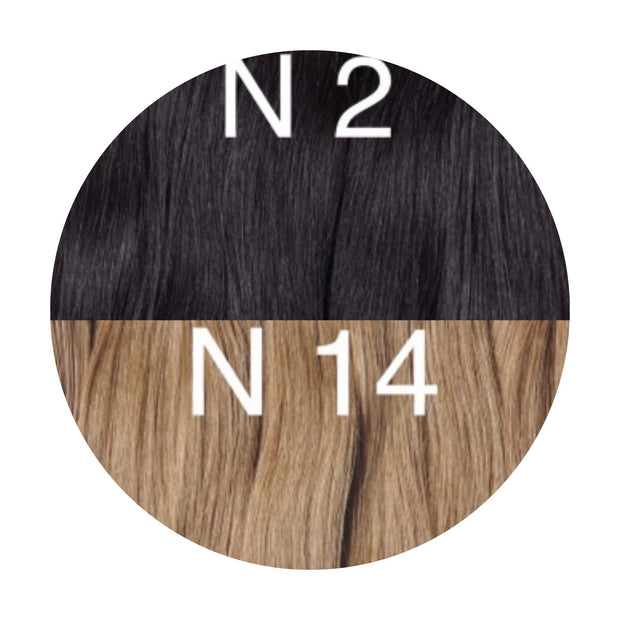Micro links ombre 2 and 14 Color GVA hair - GVA hair