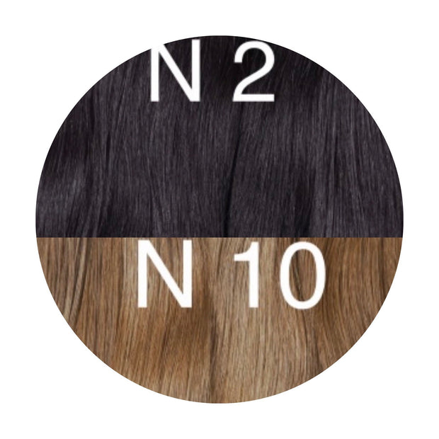 Hot Fusion ombre 2 and 10 Color GVA hair - GVA hair
