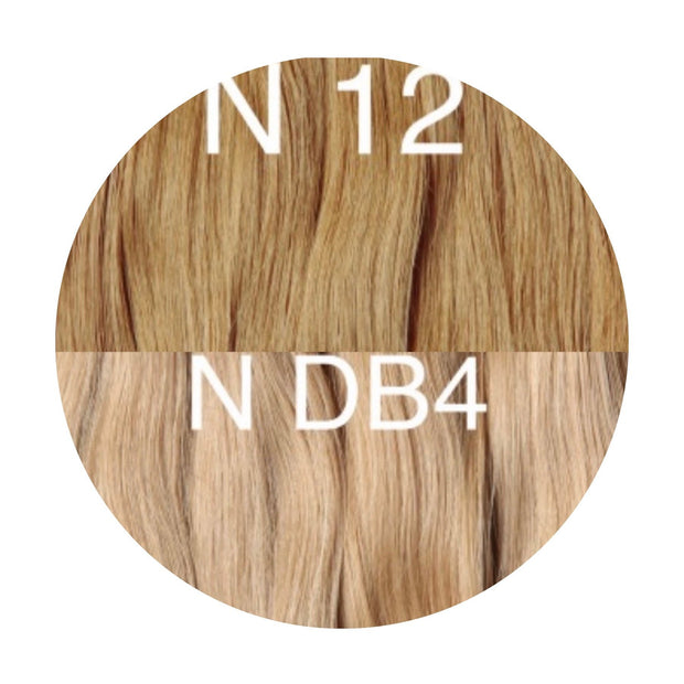 Hot Fusion ombre 12 and DB4 Color GVA hair - GVA hair