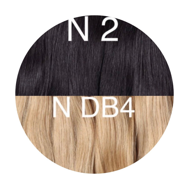 Hot Fusion ombre 2 and DB4 Color GVA hair - GVA hair