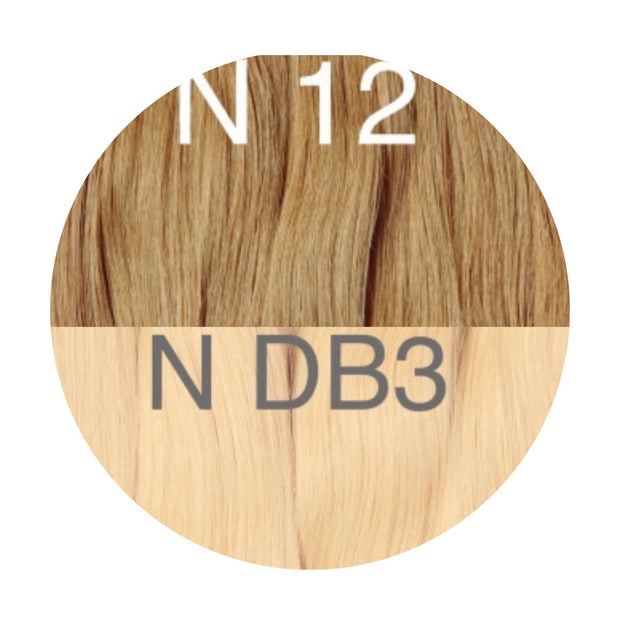 Hot Fusion ombre 12 and DB3 Color GVA hair - GVA hair