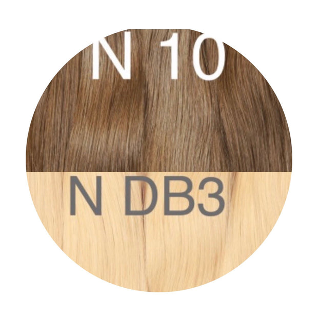 Hot Fusion ombre 10 and DB3 Color GVA hair_Retail price - GVA hair