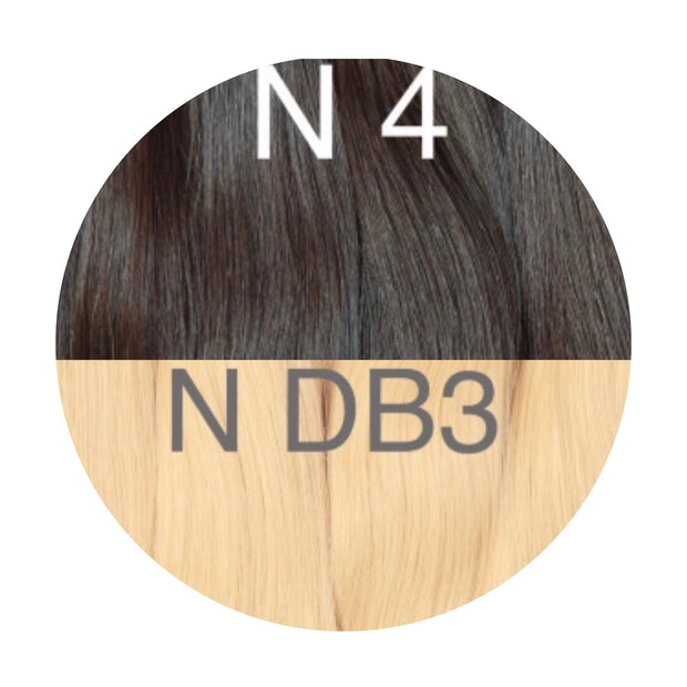 Hot Fusion ombre 4 and DB3 Color GVA hair - GVA hair