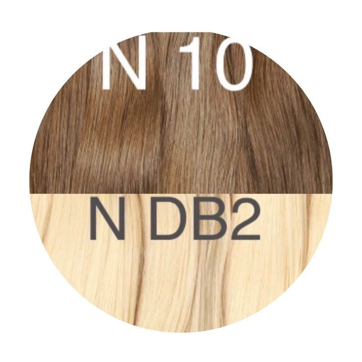 Hot Fusion ombre 10 and DB2 Color GVA hair_Retail price - GVA hair
