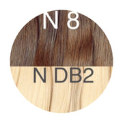 Tapes ombre Color 8 and DB2 GVA hair - GVA hair