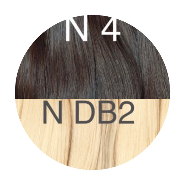 Raw cut hair Ombre 4 and DB2 Color GVA hair - GVA hair