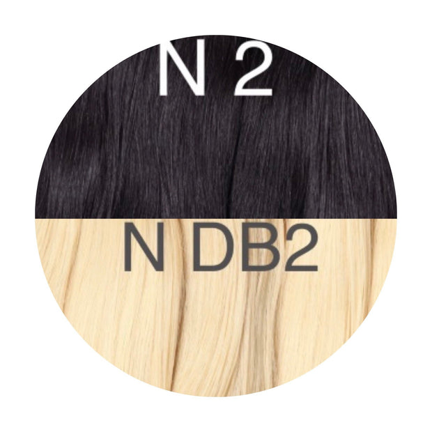 Raw cut hair Ombre 2 and DB2 Color GVA hair_Retail price - GVA hair