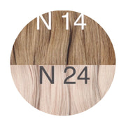 Hot Fusion ombre 14 and 24 Color GVA hair_Retail price - GVA hair