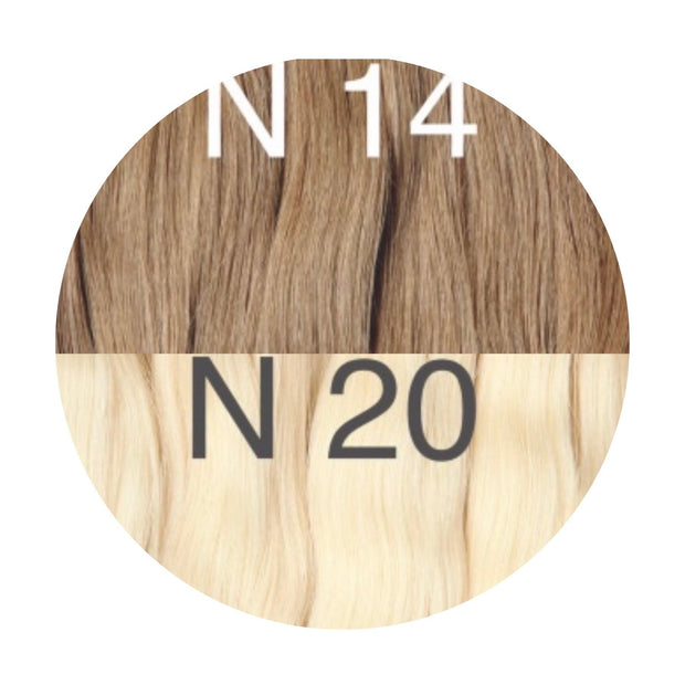 Tapes ombre Color 14 and 20 GVA hair_Retail price - GVA hair