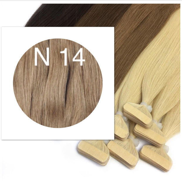 Tapes Colors LIGHT BROWN _Retail price - GVA hair