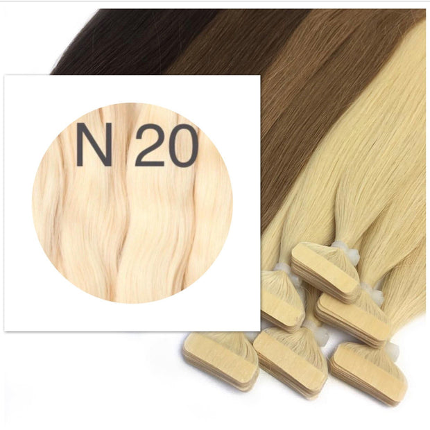 Tapes Color 20 GVA hair_Retail price - GVA hair