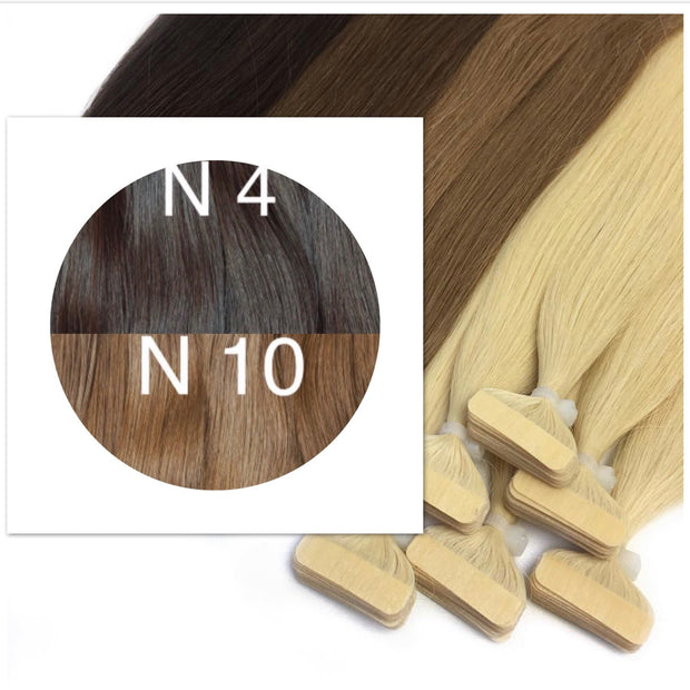 Tapes ombre Color 4 and 10 GVA hair_Retail price - GVA hair