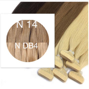 Tapes ombre Color 14 and DB4 GVA hair - GVA hair