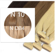 Tapes ombre Color 10 and DB4 GVA hair - GVA hair