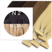 Tapes ombre Color 2 and DB4 GVA hair - GVA hair