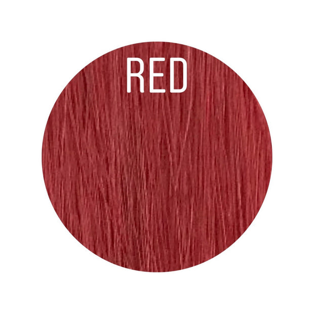 Micro links Color Red GVA hair - GVA hair