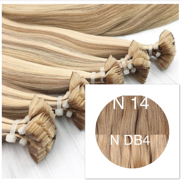 Hot Fusion ombre 14 and DB4 Color GVA hair_Retail price - GVA hair