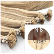 Hot Fusion ombre 8 and DB2 Color GVA hair_Retail price - GVA hair