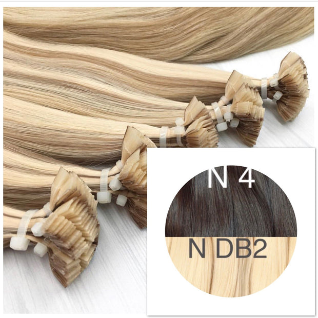 Hot Fusion ombre 4 and DB2 Color GVA hair_Retail price - GVA hair
