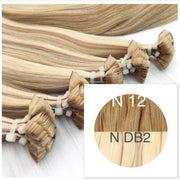 Hot Fusion ombre 12 and DB2 Color GVA hair _Retail price - GVA hair