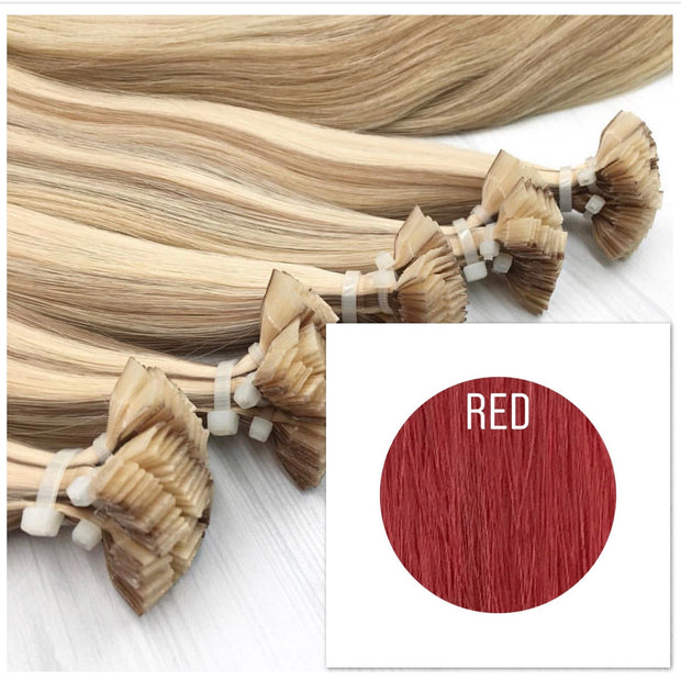 Hot Fusion Color Red GVA hair - GVA hair
