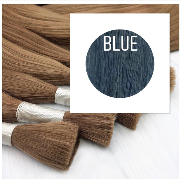 Raw cut hair Color Blue GVA hair_Retail price - GVA hair