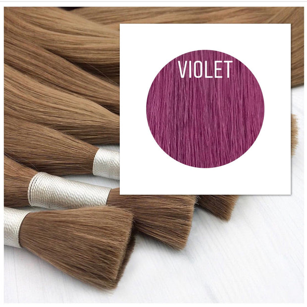 Raw cut hair Color Violet GVA hair_Retail price - GVA hair