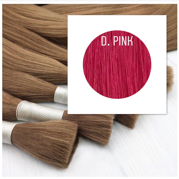 Raw cut hair Color D.Pink GVA hair_Retail price - GVA hair