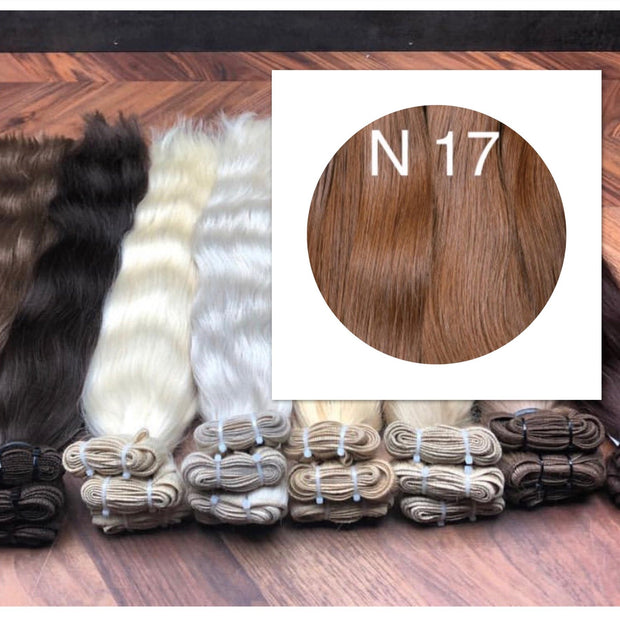 Wefts Colors Red Brown GVA hair_Retail price - GVA hair