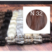 Wefts Colors Red Brown GVA hair - GVA hair
