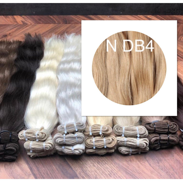 Wefts Colors BLOND GVA hair - GVA hair