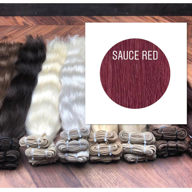 Wefts Color Sauce red GVA hair - GVA hair
