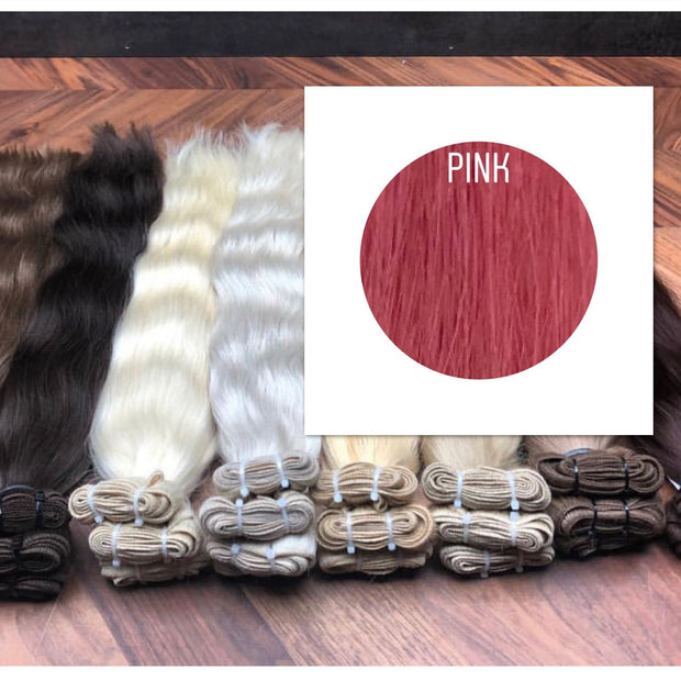 Wefts Color Pink GVA hair_Retail price - GVA hair