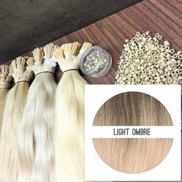 Micro links Colors LIGHT OMBRE _Retail price - GVA hair