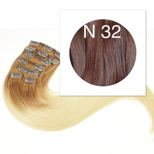 Clips  Color 32 GVA hair_Retail price - GVA hair