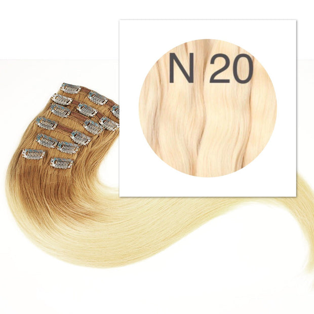 Clips  Color 20 GVA hair_Retail price - GVA hair