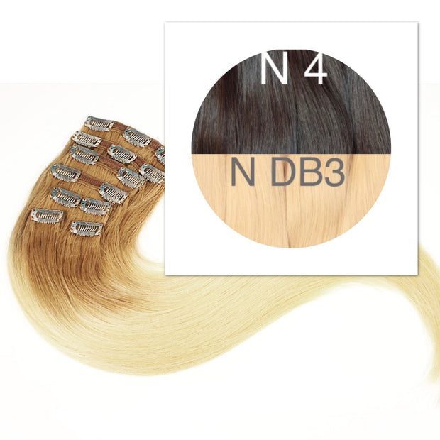 Clips Ombre 4 and DB3 Color GVA hair - GVA hair