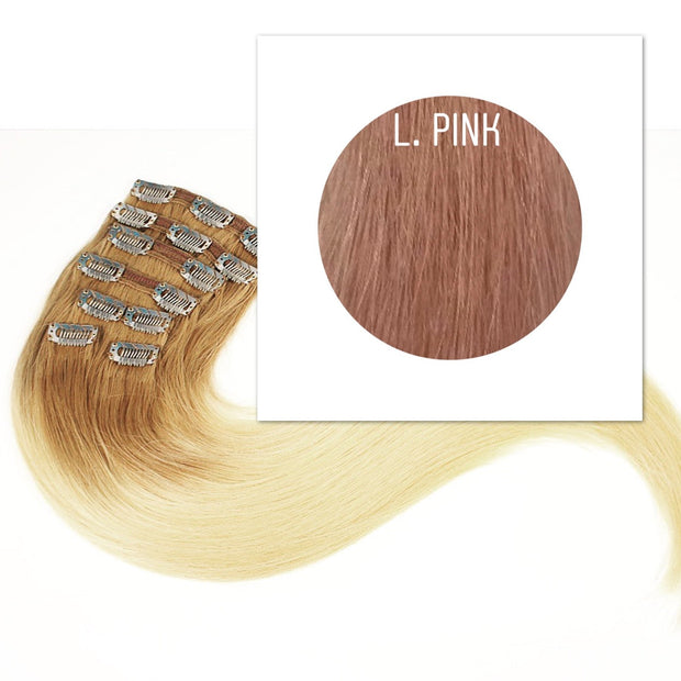 Clips  Color L.Pink GVA hair_Retail price - GVA hair
