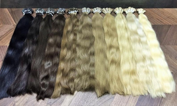 Micro links ombre 12 and DB3 Color GVA hair - GVA hair