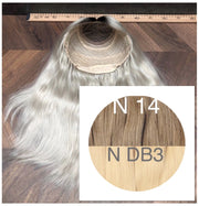 Wigs Ombre 14 and DB3 Color GVA hair - GVA hair