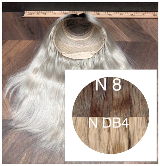 Wigs Ombre 8 and DB4 Color GVA hair - GVA hair